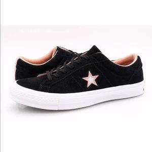 Converse Mens Black Chuck Taylor All Star Sneakers